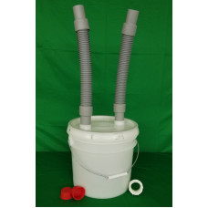 Self-Sanitizing Trap-Eze Plaster Trap 3 1/2 gallon Kit