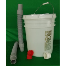 Self-Sanitizing Trap-Eze Plaster Trap 5 gallon kit