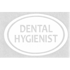 Dental Hygienist Sticker