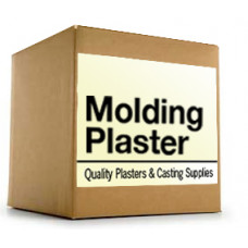 Molding plaster, Plaster of Paris, 50 lb box